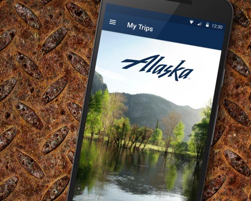 Alaska Airlines Android Mobile App